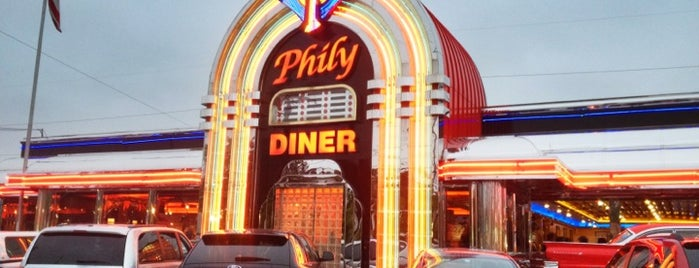 Phily Diner is one of Bars.