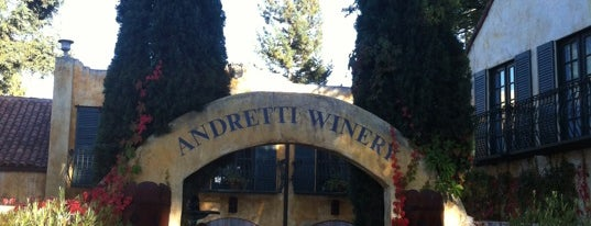 Andretti Winery is one of Daily Sip Deals.