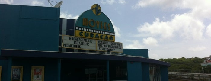 The Movies is one of Curaçao places.