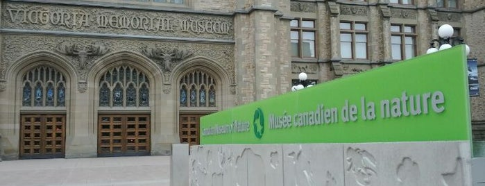 Canadian Museum of Nature is one of Places others have been.