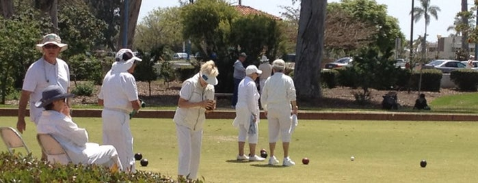 San Diego Lawn Bowling Club is one of San Diego's 59-Mile Scenic Drive.