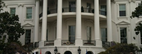 The White House is one of Paranormal Traveler.