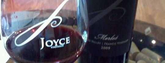 Joyce Vineyards is one of Beyond the Peninsula.