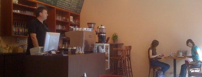 Kafec is one of Týden kávy 2012.