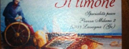 Ristorante Il Timone is one of quando vado in liguria....