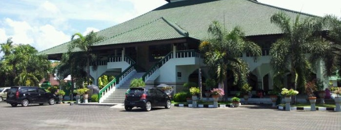 Masjid Agung Sudirman is one of Bali for The World #4sqCities.
