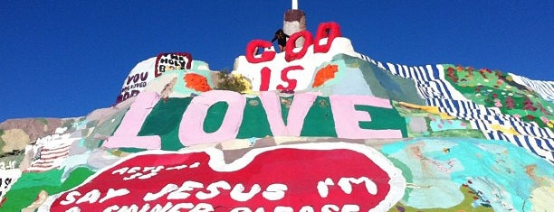 Salvation Mountain is one of Поесть.