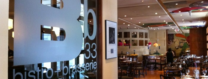 Bb33 Bistro and Brasserie is one of Accessible Restaurants.
