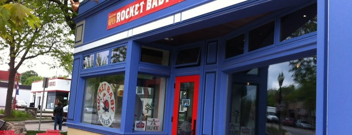 Rocket Baby Bakery is one of MKE foodie.