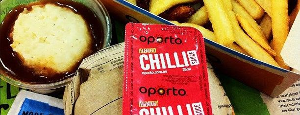 Oporto is one of South Australia (SA).