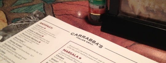Carrabba's Italian Grill is one of GF.