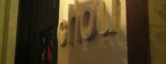 Chou is one of My Favorite Restaurants.