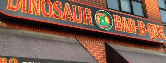 Dinosaur Bar-B-Que is one of Manliest Restaurants 2012.