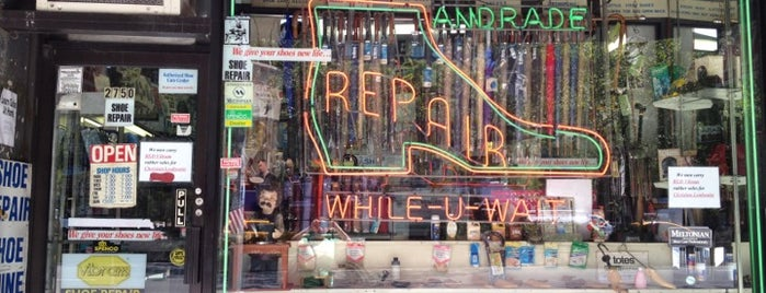 Andrade General Shoe Repair is one of Faves.