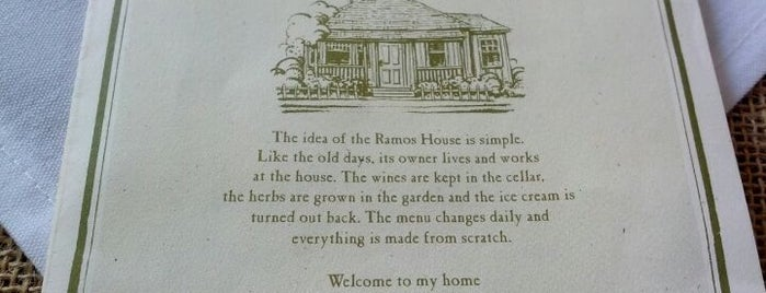 Ramos House Cafe is one of Eat, drink & be merry.