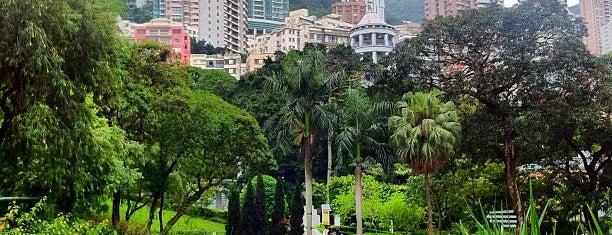 Hong Kong Park is one of Hong Kong.
