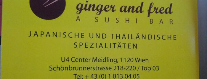 Ginger and Fred is one of Lokaltipps Wien / To Go.