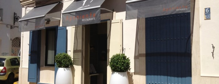 Aponiente is one of COSTA CÁDIZ GASTRO.