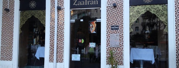Restaurante Zaafran is one of Sítios.