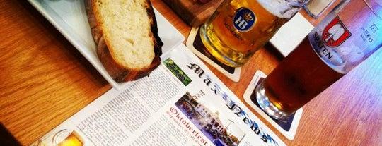 Max Bratwurst und Bier is one of Beer Gardens-To-Do List.