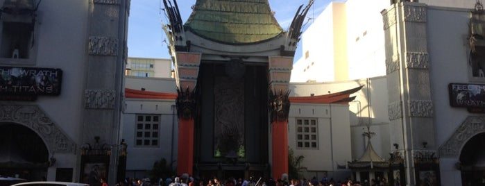 TCL Chinese Theatre is one of Los Angeles.