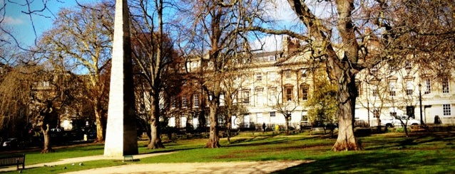 Queen Square is one of Bath.