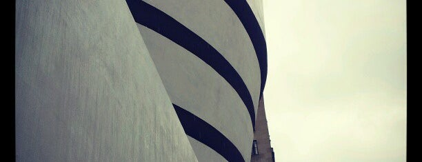 Solomon R Guggenheim Museum is one of Partners in Preservation-New York City.