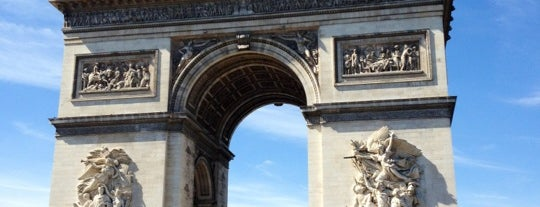 Arc de Triomphe is one of France.