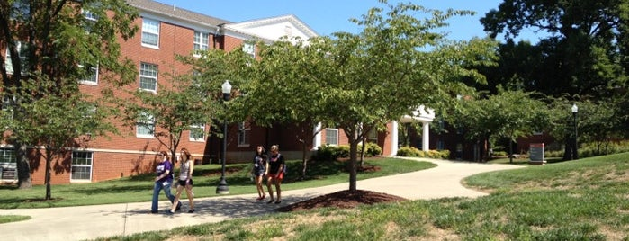 Bates Runner Hall is one of Campus Tour.