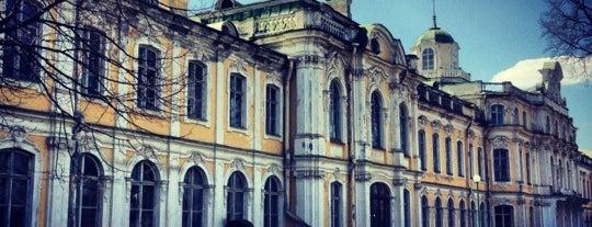 Усадьба Знаменка is one of Интересное в Питере.