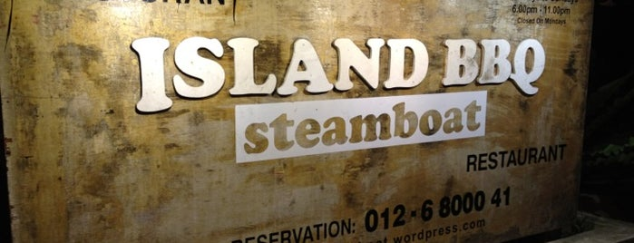 Island BBQ Steamboat is one of subang food place, selangor.