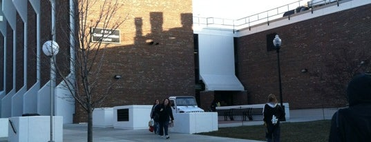 Arts & Communications Building is one of UW Oshkosh Admissions Tour.