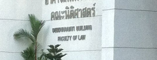 Faculty of Law is one of Chulalongkorn University.