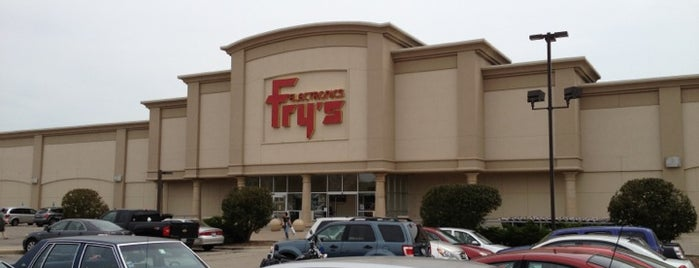 Fry's Electronics is one of Where we shop.