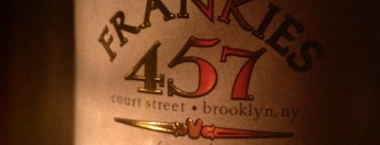 Frankies 17 is one of NYC To-Do.