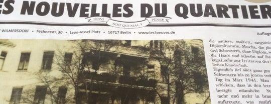 Les 3 veuves de Wilmersdorf is one of Burger in Berlin.