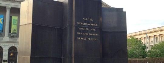 Shakespeare Memorial is one of Public Art in Philadelphia (Volume 3).