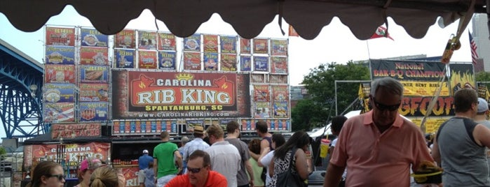 Great American Rib Cook-Off Cleveland is one of Enjoy Cleveland.
