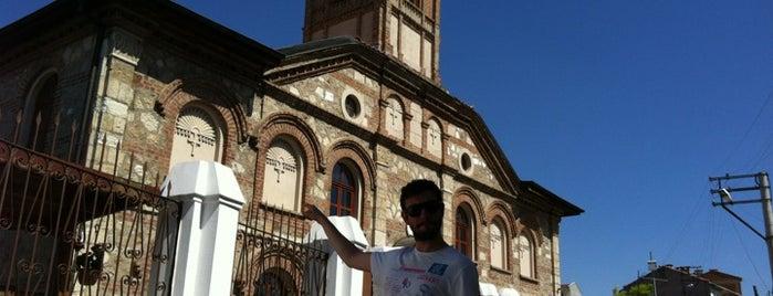 Sv Georgi Bulgar Kilisesi is one of Edirne Rehberi.