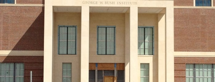 George W. Bush Presidential Center is one of Mr. President, Mr. President....