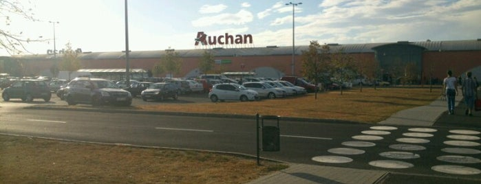 Auchan Csömör is one of 1.