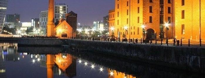 Albert Dock is one of Liverpool.