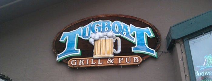 The Tugboat Grill & Pub is one of Bars I've been to.