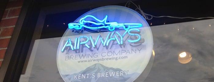 Airways Brewing Beer & Bistro is one of WABL Passport.