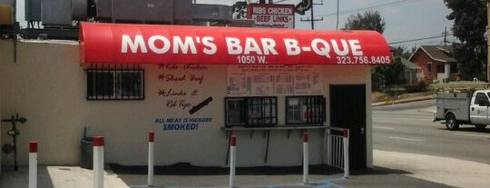 Mom's BBQ is one of Before you leave LA, you must....