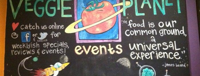 Veggie Planet is one of Boston Vegan.