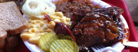 Augie's Barbed Wire Smokehouse is one of Current Best Of San Antonio 2012.