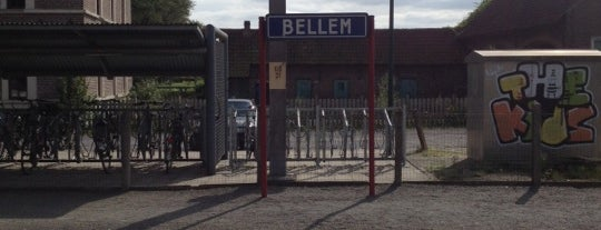 Station Bellem is one of train stations.