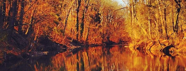 Wissahickon Valley; Fairmount Park is one of places.