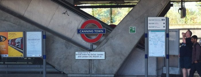 Canning Town London Underground and DLR Station is one of Railway stations visited.